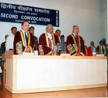 Second Convocation, NIPER S.A.S. Nagar