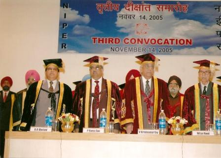 Third Convocation, NIPER S.A.S. Nagar