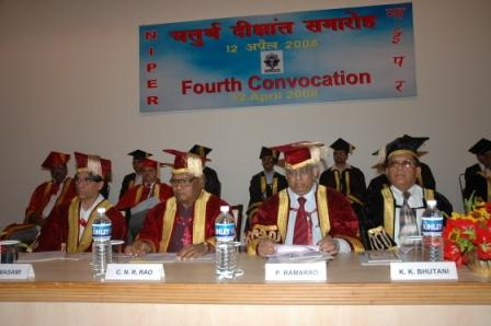 Fourth Convocation, NIPER S.A.S. Nagar